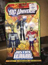 Justice League Unlimited JLU Batman Vandal Savage Future Superman 3 figure set