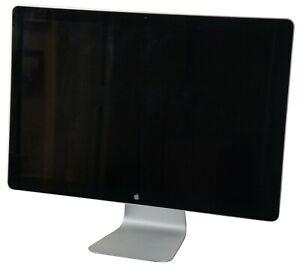 "Apple Mac Cinema Display A1267 Computer Monitor 24"" Widescreen LCD Display"