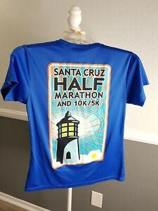 2014 Santa Cruz Half Marathon 5K 10K Race Participant Shirt Small/Medium H26