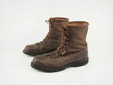 1990s MATTERHORN Sport Vintage Brown Insulated GTX Hunting Field Boots 14