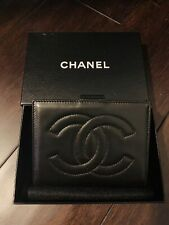 CHANEL CC Lambskin Leather Vintage Coin/Bifold Wallet
