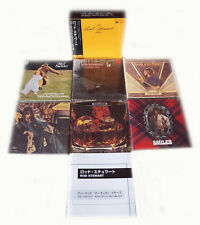 Rod Stewart - Vertigo/Mercury Years 69-74 - 6 Mini LP CD Japan 2006 Box RARE OOP