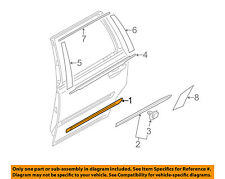 VOLVO OEM 06-14 XC90 Exterior-Rear-Side Molding Left 39998728