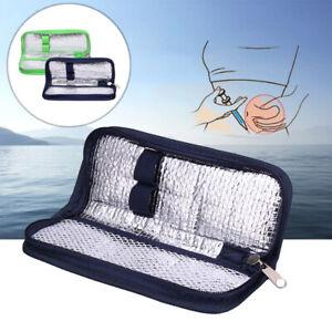 Portable Insulin Cooler Travel Case Diabetic Medication Organizer Cooler Bag US