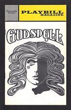 """Stephen Schwartz """"GODSPELL"""" Paul Kreppel / John-Michael Tebelak 1972 Playbill"""