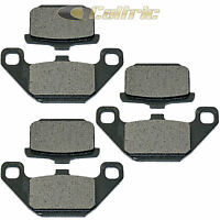 Caltric Front and Rear Brake Pads for Kawasaki ZN700 LTD Shaft 1984 1985