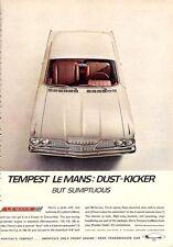 1962 Pontiac LeMans 2-Door Hardtop  PRINT AD