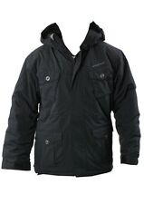 QUIKSILVER BOY'S STALE-FISH SNOW JACKET Size Large BLACK NWT