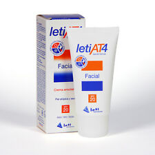 LETI AT4 SPF 20 FACIAL CREAM FOR ATOPIC, DRY AND SENSITIVE SKIN 50ml DERMATITIS