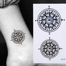 Fashion Waterproof Women Men Unisex Transfer Temporary Tattoo Body Art Sticker