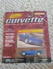 Johnny Lightning Corvette Collection 1998 Blue Corvette Convertible New