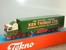 Scania 113M 360 Ken Thomas LTD Truck & Trailer - Tekno 1:50 in Box *41174