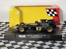 Policar Lotus 72 #8 Monaco GP 1972 Negro CAR02C 1:32 Ranura Nuevo Y En Caja