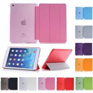 Smart Cover Hard Back Case for Apple iPad 9th 8th 7th 6th Gen iPad6 5 4mini Air