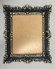 Cadre d'image Art Nouveau NOIR-OR ancien rectangulaire 45X38 baroque 103047