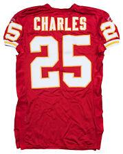 Jamaal Charles 2010 Game Worn Kansas City Chiefs Jersey Miedema + Team LOA