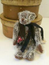 "Ganz Cottage Collectibles Li'l Smitty Miniature Wobbly Bear 4"" new"