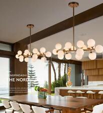 Modern 16-Light Glass Globe Chandeliers Pendant Lamp Ceiling Fixtures Lighting
