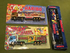 Lot Camion semi remorque SCANIA 1/87 HO transport HARIBO neuf