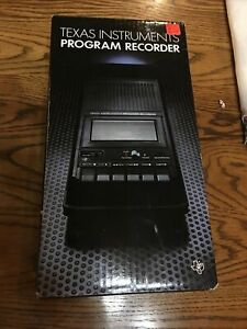 New Texas Instruments TI Program Recorder PHP2700 for TI 99/4A Black