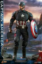 Hot Toys 1/6 Captain America Avengers Ending Game MMS536 Action Figure Toy Set