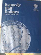 John F Kennedy Half Dollar Starting 1964 Book/Album  31 coins