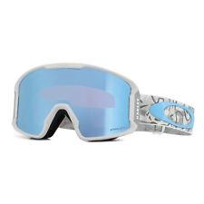 Oakley Ski Goggles Line Miner XM OO7093-16 Camo Vine Snow Prizm Sapphire Iridium