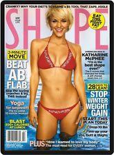 Shape Magazine Cover Katharine McPhee Refrigerator Magnet