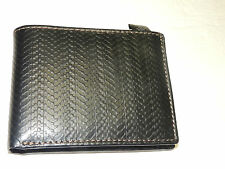 FOSSIL mens wallet ~GRAYSON INTERNATIONAL TRAVELER~ in black  NWT