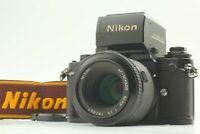【EXC+5 】 Nikon F3 AF SLR Film Camera + AF Nikkor 80mm F2.8 From Japan # 656