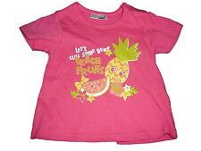 NEU Ergee süßes T-Shirt Gr. 86 rosa mit Früchte Motiven !!