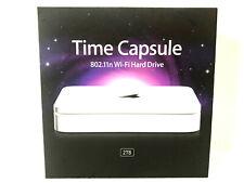 Apple Time Capsule External 802.11n Wi-Fi Hard Drive 2TB Model A1409 MINT