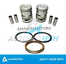 SIZE STD Piston & Ring Set For Toyota Celica 4Runner 2.4 L 22R 22RE 22REC SOHC
