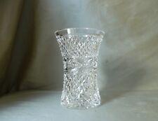 "Waterford Crystal Vase, Signed, h15,3cm (6"")"