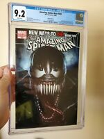 Amazing Spiderman 569 CGC 9.2 1st Appearance Of Anti Venom. Adi Granov variant