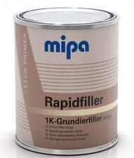 MIPA Rapidfiller 1k Steel Etch Filler Primer Beige 1L Rapid Filler