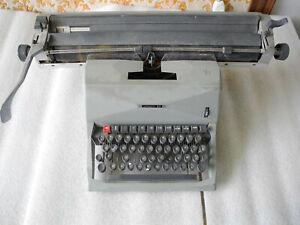 Machine For Write Olivetti 82 Diaspron Period For Vintage Years 60 Antique