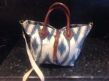 Ralph Lauren Leather & Canvas Bag