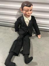 Vintage 1977 Juro Novelty Charlie McCarthy Ventriloquist Dummy Doll Tux 30 inch