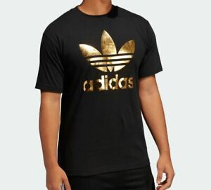 propiedad Cámara España  adidas Gold T-Shirts for Men for sale | eBay