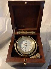 Weems & Plath Ship Clock Box