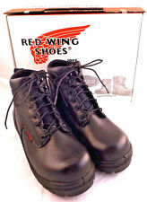 "New RED WING 2234 6"" Safety King Toe Work Boot Men Sz 9.5 EE (US) RETAIL $179"