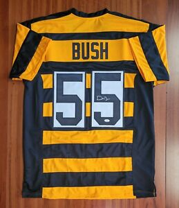 Devin Bush Signed Autographed Bumblebee Jersey Pittsburgh Steelers JSA