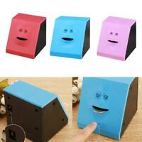 Piggy Bank Funny Facebank Face Sensor Coin Eating Saving Money Box Kids Gift UK