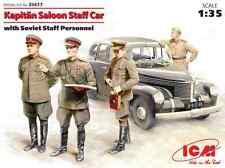 Opel Kapitän Saloon avec état-major Soviétique