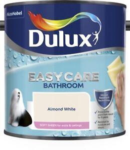 Dulux Bathroom Easycare - Soft Sheen Bathroom Emulsion - All Colours