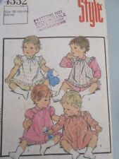 babys intage dress size 18mths