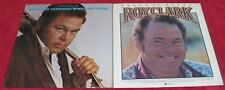 Roy Clark (Lot of 2 Vinyl LPs): Yesterday When I Was Young / Heart To Heart