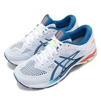 Asics Gel-Kayano 26 White Lake Drive Blue Men Running Shoes Sneaker 1011A541-100