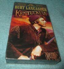 """THE KENTUCKIAN"" VHS TAPE BURT LANCASTER  NEW FACTORY SEALED MGM WESTERN LEGENDS"